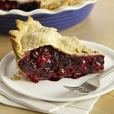 A delicious pie recipe using fresh summer fruit. Toss blueberries and raspberries in a sugar, cornstarch, lemon juice and cinnamon mixture, then bake in a homemade or store-bought pie crust.