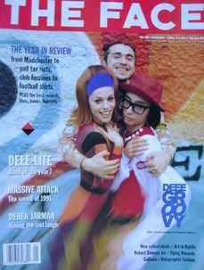 The Face magazine - Deee-Lite cover (January 1991 - Volume 2 No. 28)