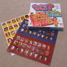 Personalized Guess Who Game - how to