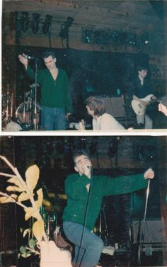 Morrissey and Johnny Marr: The Smiths at National Stadium, Dublin, Ireland on February 10, 1986.