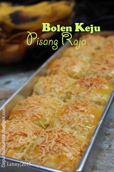 Cake Recipes, Snack Recipes, Dessert Recipes, Cooking Recipes, Bread Recipes, Indonesian Desserts, Asian Desserts, Indonesian Food, Roti Canai Recipe