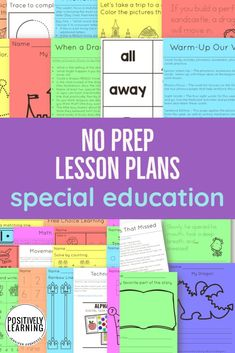 Need lesson plans in a hurry? These are ready to go - just upload to share or print! Already divided into days of the week, these lesson plans include early literacy, math, sight words, fine motor, phonemic awareness AND a few extras.