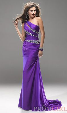 "Purple Prom Dress With Bling Detail!  ""Trendy, Unique and Affordable"" - That is the main philosophy at Bling Boutique in Milford, MI!  Stop by our store to find some fashionable items that will spice up your wardrobe!  Visit www.downtownbling.com or call (248)  685-8449 for more information!"