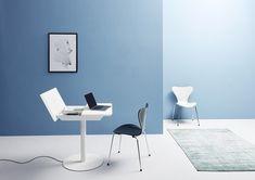 Die smarten Home-Office-Lösungen von Müller Small Living garantieren einen optimalen Workflow! Home Office, Office Desk, Small Living, Dining Table, Furniture, Home Decor, Cubby Hole Storage, Dinning Table Set, Eten