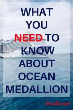 Understand everything you need to know about Princess Cruises Ocean Medallion and what it will do for you! Find out about the internet package and other Ocean Medallion features fully explained for first-time cruisers and anyone booking a cruise. #cruise #cruiseinternet #cruising #cruisetips #princesscruises