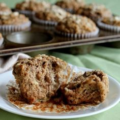 Eggless Whole Wheat Banana Muffins | muffins part deux : savory ...