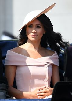 Meghan Markle at the 2018 Trooping the colour ceremony