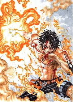 Portugas D. Ace One Piece.....I miss him soooooooo freakin much!