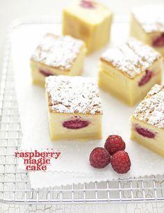raspberry magic cake by barbaraT pane, via Flickr