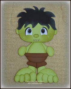 Hulk Super héroe Avenders preconfeccionados por MyCraftopia en Etsy