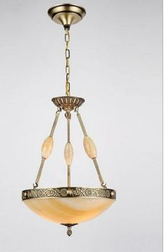 Beautiful Alabaster Stone Pendant #lighting #chandeliers