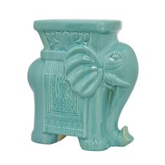 It's OK, you can actually sit on this blue elephant in the room. Stay in touch with your inner yogi by taking a rest on this Ganesh stool. It adds a playful pop of color and bohemian style.  Find the Ganesh Takes a Seat Stool in Blue, as seen in the The Silk Route Collection at http://dotandbo.com/collections/the-silk-route?utm_source=pinterest&utm_medium=organic&db_sku=92506