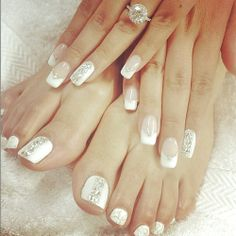 Great matching mani / pedicure.