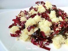 Cous cous tiepido con patate e radicchio | Ricetta