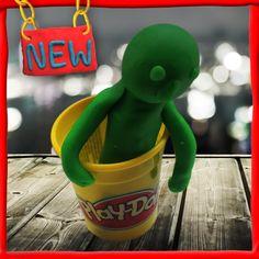 Bang voor monsters? Maak je eigen Play-Doh monster om je te beschermen.