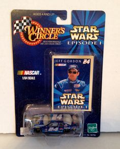 JEFF GORDON 1999 STAR WARS Episode 1 Winners Circle Monte Carlo