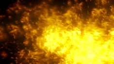115 Golden fire photography&video background video material for video producer