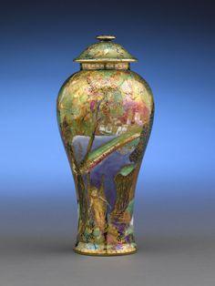 wedgwood fairyland lustre | Wedgwood Fairyland Lustre Rainbow Vase