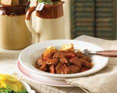 Beef, Capsicum & Paprika Casserole