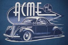 Art Deco Car Poster(Art Deco or deco, is an eclectic artistic and design style that began in Paris in the 1920s and flourished internationally throughout the 1930s and into the World War II era. The style influenced all areas of design, including architecture and interior design, industrial design, fashion and jewelry, as well as the visual arts such as painting, graphic arts and film)
