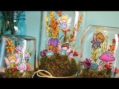 Check out http://lawnfawn.com to see our products, more ideas and inspiration! In this video Lawn Fawn design team member Chari show us how to make the cutest fairy terrariums out of mason jars! ——— S