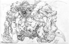 A Wolf Illustrations Blog: Joe Madureira Sketchbook
