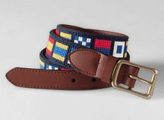 Lands' End Nautical Belt