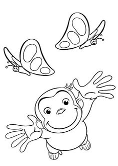 Curious George & Butterflies