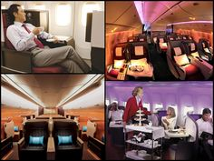 The Business class cabins have undergone a dramatic change in the past two decades. The have grown by leaps and bounds taking style and luxury and service