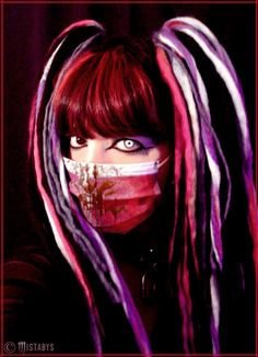 Mistabys : bloody cyber-goth nurse