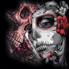 """Lowrider Art Design"" Canvas Print by Chicano Tattoos, Body Art Tattoos, Tattoo Drawings, Sleeve Tattoos, La Muerte Tattoo, Catrina Tattoo, Lowrider Art, Natur Tattoo Arm, Los Muertos Tattoo"