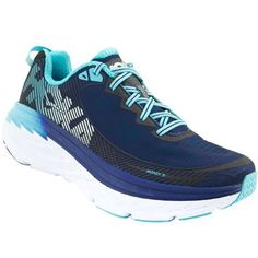 Hoka One One Bondi 5 Running Shoes - Womens Medieval Blue