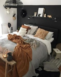 Bohemian Bedroom Decor Ideas - Want to add cool panache to your bedroom? Take into consideration using bohemian, or boho, style inspiration in your next room redesign. #bohemianbedroomdecor #bohemianbedroomideas #spacesavingbedroomideas #bedroompaintcolors