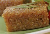 Javaanse koek van kleefrijst en gula djawa...