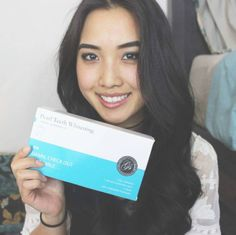 Smile with confidence! Here is our Pearl Teeth Whitening Kit. It comes with 3 gel syringes, 2 mouth trays, 1 LED light!  @lllfashion_xo  http://getfreecharcoaltoothpaste.tumblr.com