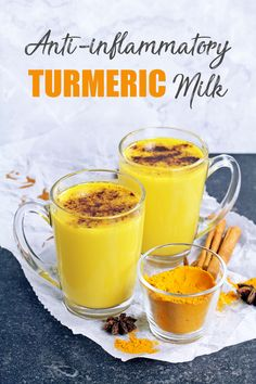 Anti-inflammatory Golden Turmeric Milk