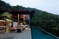 Резиденция в тропическом лесу Бразилии — HQROOM