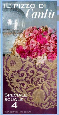 Bobbin lace in italian Bilros/birros em italiano Encaje de bolillos Tombolo Types Of Lace, Bobbin Lace Patterns, Needle Lace, Lace Making, Irish Crochet, Beaded Embroidery, Blackwork, Decorative Boxes, Projects To Try