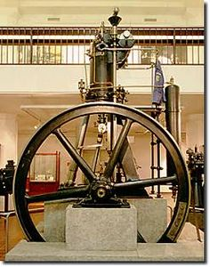 The first Diesel Engine created by Rudolf Diesel