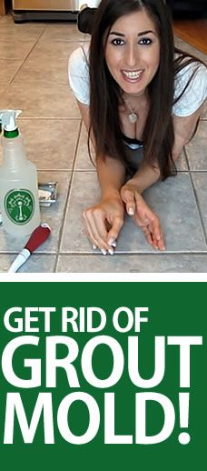 Got Grout Mold? Getting rid of it can be cheap, quick and easy!