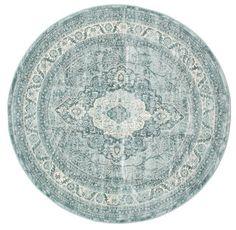 Jacinda - Licht tapijt  Ø200