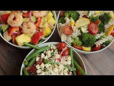 3 Fresh Summer Salads - The Domestic Geek - YouTube