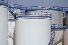 Photo about Oil storage tanks for the chemical industry. Image of equipment, platform, fuel - 5779128 Chemical Industry, Oil Storage, Tanks, Royalty Free Stock Photos, Industrial, Social Media, Ideas, Shelled, Military Tank