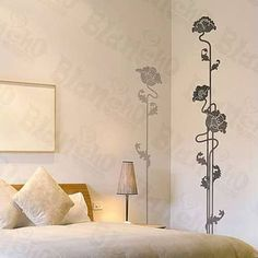 wall decals, large flower - Google Search