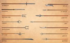 Weapons (6): more polearms (Egil Thompson)