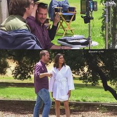 """NCIS LA Behind the scenes season Daniela Ruah 7x07 """"An Unlocked Mind"""" directed by Chris O'Donnell, airdate Nov.9, 2015"""