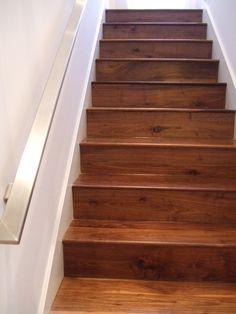 Great Black American Walnut Stairs