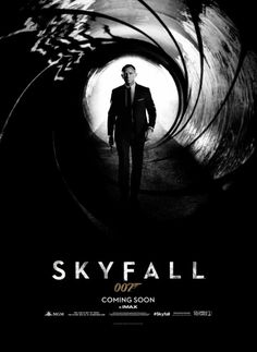 Brand new teaser poster for #jamesbond #skyfall. Countdown with friends to it's release http://flck.it/clock