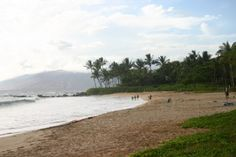 Palauea Beach, aka White Rock. less touristy. good snorkeling at both ends of beach around rocky outcroppings.