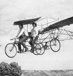 This would help beat the shanghai traffic! xplanes:    sunday fantasy #372: The Sky Bike (via Jim Barker's Flickr) )